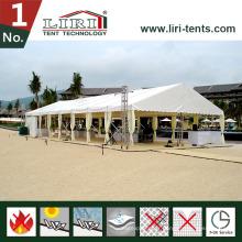 Tente et chapiteau de mariage 10X30m pour 300 personnes
