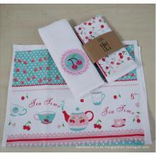 (BC-KT1025) Toalha de chá / toalha de cozinha com design elegante de boa qualidade