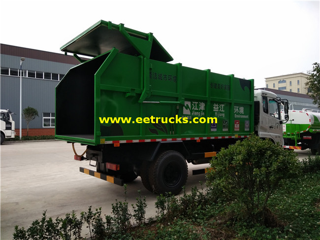 Docking Refuse Collector Trucks