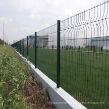 Clôture en treillis métallique en PVC