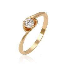 13961 Xuping 1 gramme or anneaux design pour les femmes avec le prix, les dernières anneaux de mariage plaqués or pour les femmes