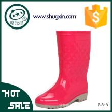 водонепроницаемый обувь женщины ПВХ дождь ботинки