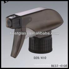 28/410 black trigger sprayer, cosmetic bottles sprayer triggers, perfume pump sprayer