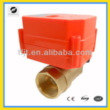 mini and larger torque 9-24V electric control valve with 6Nm for control water flow and shu-off