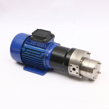 Low noise 3-phase AC pump motor