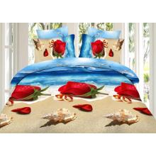 100% Cotton Reactive Printed Fabric for Comforter Set