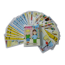 Kundenspezifische Druckpapierkarte für Kinder, die spielen