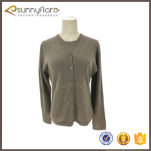 Ladies wool cashmere twin set cardigan sweater sets