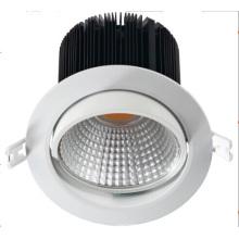 Diodo emissor de luz Recessed Downlight / luz de teto do diodo emissor de luz de Dimmable da fonte de China