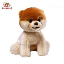 Custom soft plush terrier stuffed dog