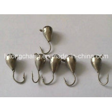 Plain Color Tungsten Ice Fishing Jig Head Dia2.5mm-Dia6.5mm