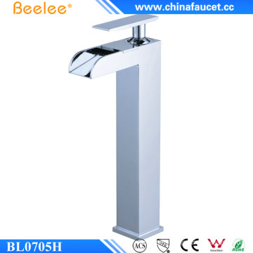 Beelee Bl0705h Contemporary Brass Waterfall Bathroom Mixer Tap