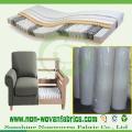 Tela no tejida para el sofá, muebles, fabricación del colchón (NONWOVEN-SS03)