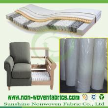 Tecido não tecido para sofá, móveis, fabricação de colchões (NONWOVEN-SS03)