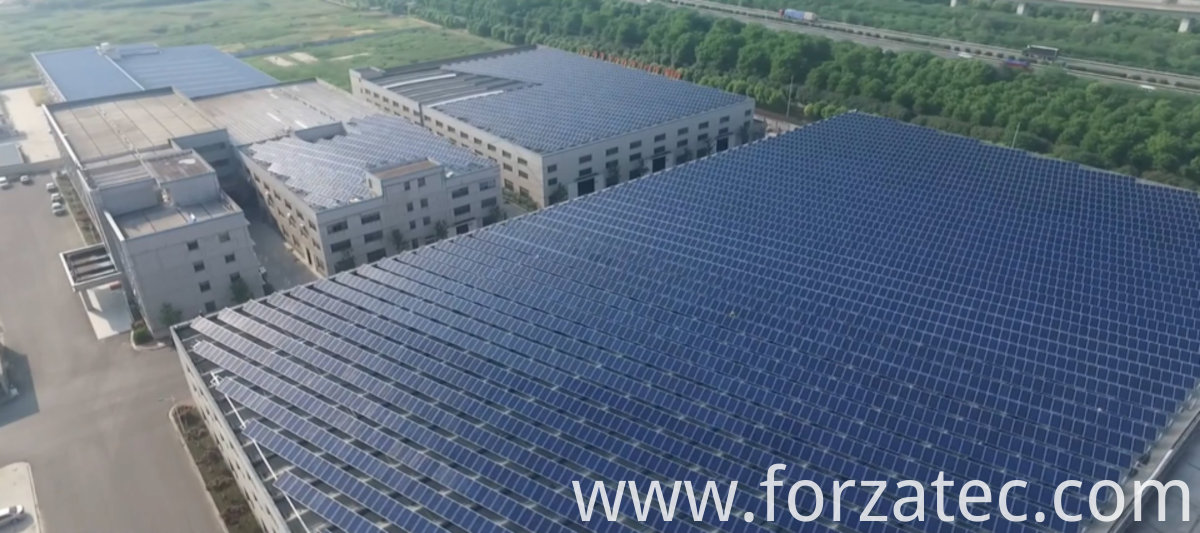 Solar Power Plant of Poly module