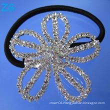 Luxurious crystal girls hair band, french hair band, girls hair accessories flower hair bands