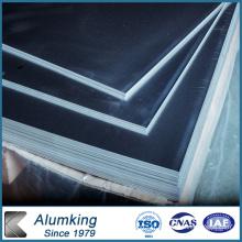 Plaque en aluminium personnalisable pour la construction