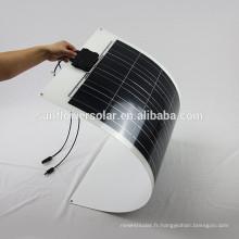 Panneau solaire flexible