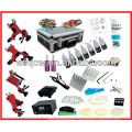Full set Tattoo Machine kit with 4 machines