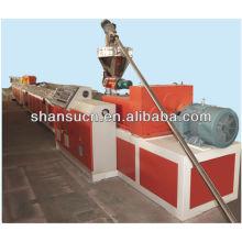 Máquina de perfil de WPC (PVC/PP/pó de madeira + PE)