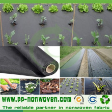 Black Agriculture Spunbond Weed Control Nonwoven