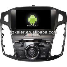 4.2.2 Reproductor de DVD del coche Android System para 2012 Ford Focus con GPS, Bluetooth, 3G, iPod, juegos, zona dual, control del volante