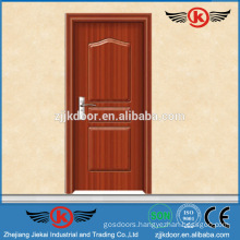 JK-P9026 pvc bathroom/kitchen/cabinet pvc interior door prices
