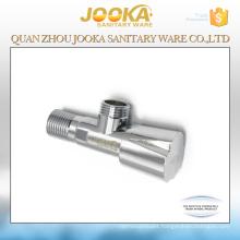 Chrome plated sanitary fittings brass angle valve