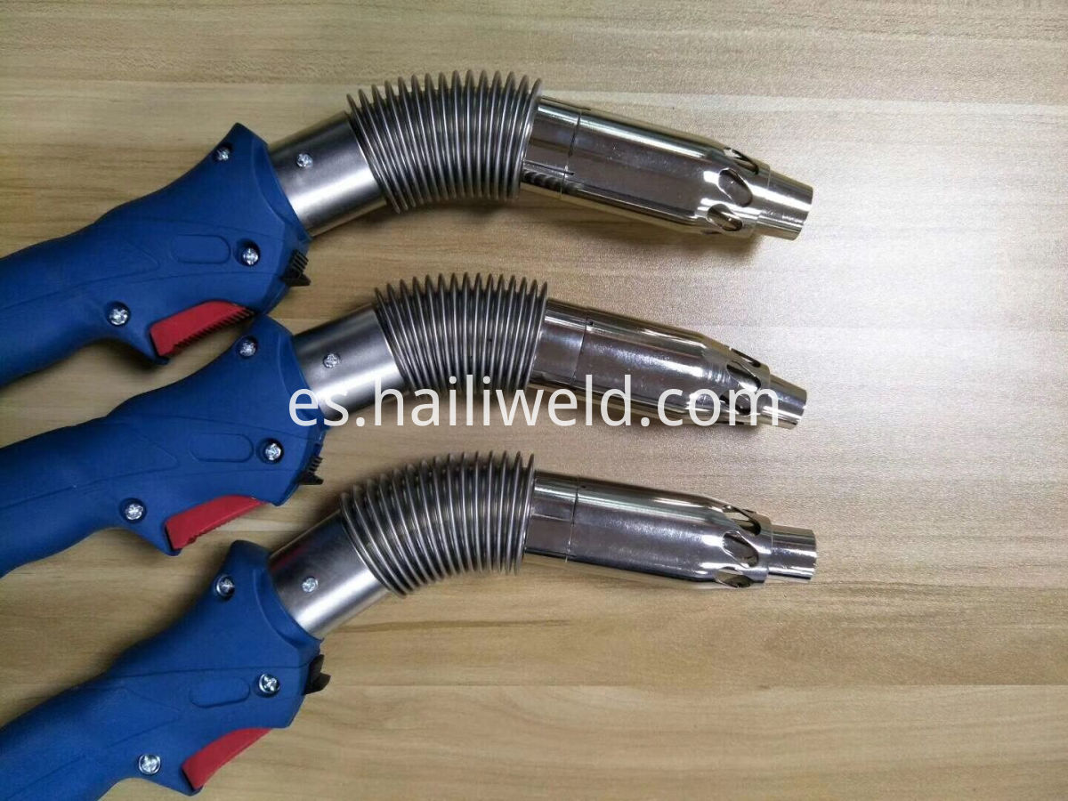 Water Cooled MIG MAG Fume Extraction Torch