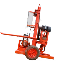 Wheeled Drilling Rig Small Electric Civil Water Well Drilling Rig