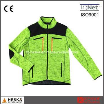 Грубый игла куртки Трикотажные мужские куртки