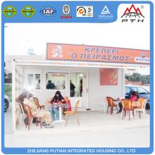Cafetería de contenedores personalizada de alta calidad