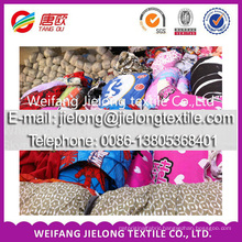 stock polyester plain colors fabric wholesale polyeser fabric for bedsheet