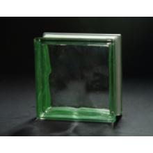 190 * 190 * 80mm Vert Blindé Bloc de Verre Nuage