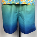 Männer Gradient Blue Beach Shorts