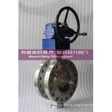 Válvula Borboleta Offset triplo de alta pressão CF8M Class600