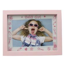 Baby 4x6inch Rosa Kunststoff Bilderrahmen für Mädchen