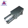 Reducción del engranaje helicoidal del motor de CC de imán permanente para persianas