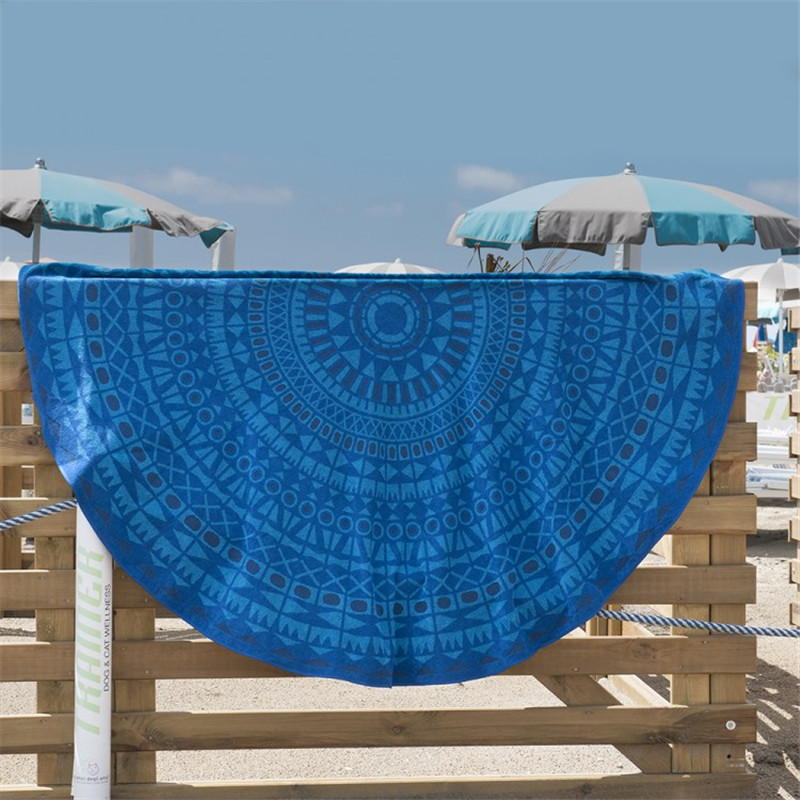 Cotton Roundie Beach Towel