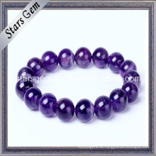 Pulsera de venta caliente Natural Amethyst Beads