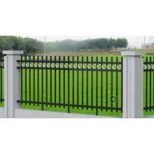 Outdoor Powder Coated Ornamental Steel Fence