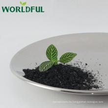 Fertilizante orgánico 100% soluble en agua del fulvate de potasio soluble en agua para la planta