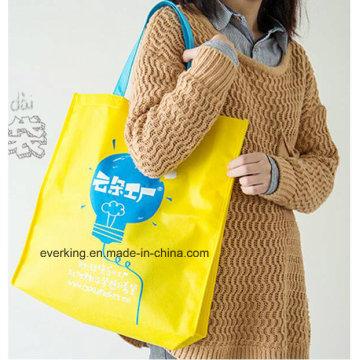 Öko-freundliche kundengebundene wiederverwendbare faltbare Einkaufstasche