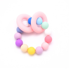 Silicone Baby Teething Toy Teether Beads Baby Teether Silicone Beads Wholesale Food Grade Silicone Beads