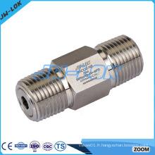 Vannes de contrôle de carburant en acier inoxydable 316 en acier inoxydable 8 mm
