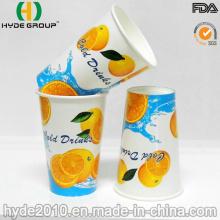 12 Oz copo de papel descartável bebida gelada para suco