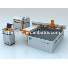 1500*2500mm portable water jet cutting machine for gas tube