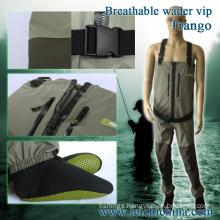 Fly Fishing Waterproof Breathable Zip Waders