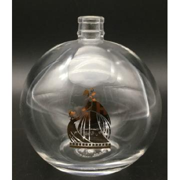 Vintage Parfümflasche kurz nachfüllbares leeres Glas