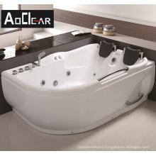 Aokeliya 2021 whirlpool massage hydromassge acrylic bathtubs with faucets